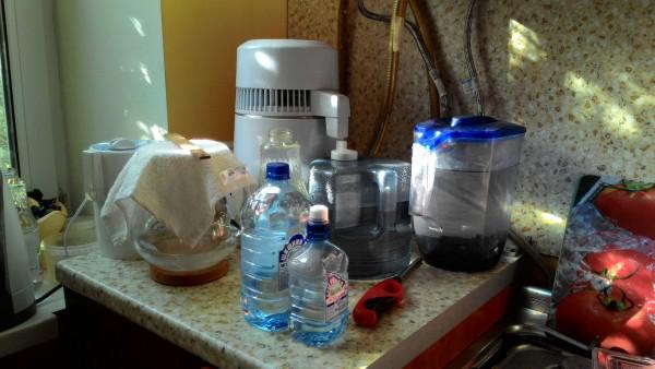 Наша установка по созданию чистейшей, нереализованной, живой воды